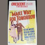 Make Way For Tomorrow, Paramount Pictures, 1937,