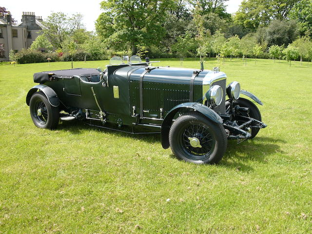 1932 Bentley 4/8-Litre 'Le Mans' Tourer  Chassis no. VF4091