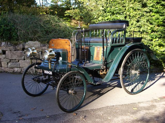 1900 Benz Ideal 3 1/2hp Dos-à-Dos Spindle-back Four-seater  Chassis no. 2267A Engine no. 2595