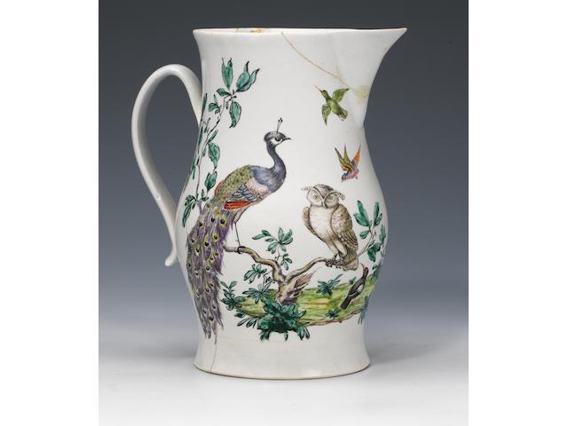 A remarkable Richard Chaffers large jug circa 1760-64