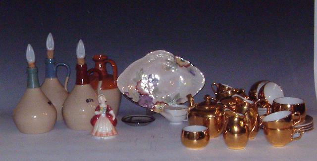 A group of mixed ceramics