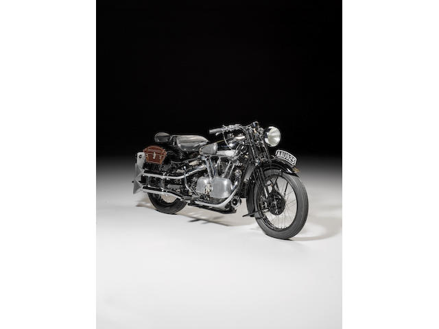 1934 Brough Superior 996cc SS100