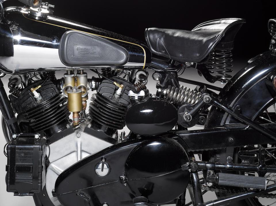 1934 Brough Superior 996cc SS100 Frame no. 1057 Engine no. JTOR/D 39150