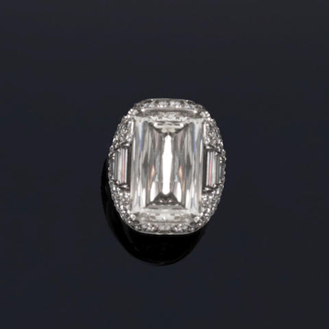 A diamond dress ring, by Bulgari