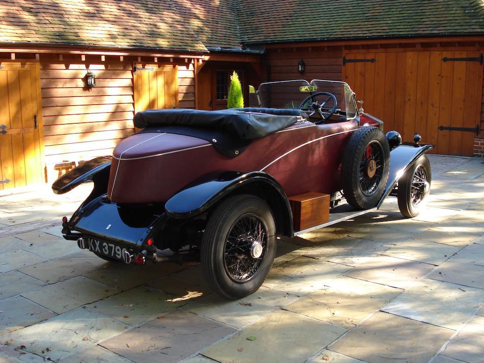 1929 Rolls-Royce 20hp Tourer  Chassis no. GVO45 Engine no. B5D