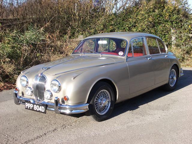 1966 Jaguar Mk2 3.8-Litre Saloon  Chassis no. 235164DN Engine no. LE 3725-8