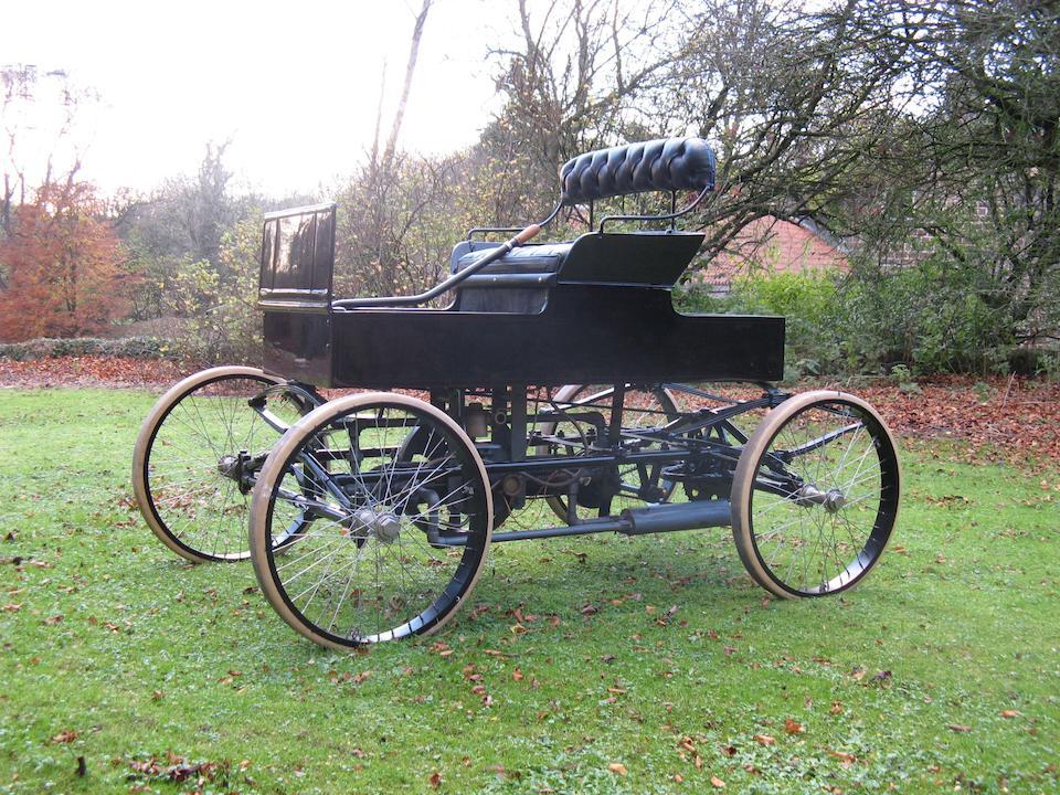 1900 Crestmobile 7.5hp Buckboard