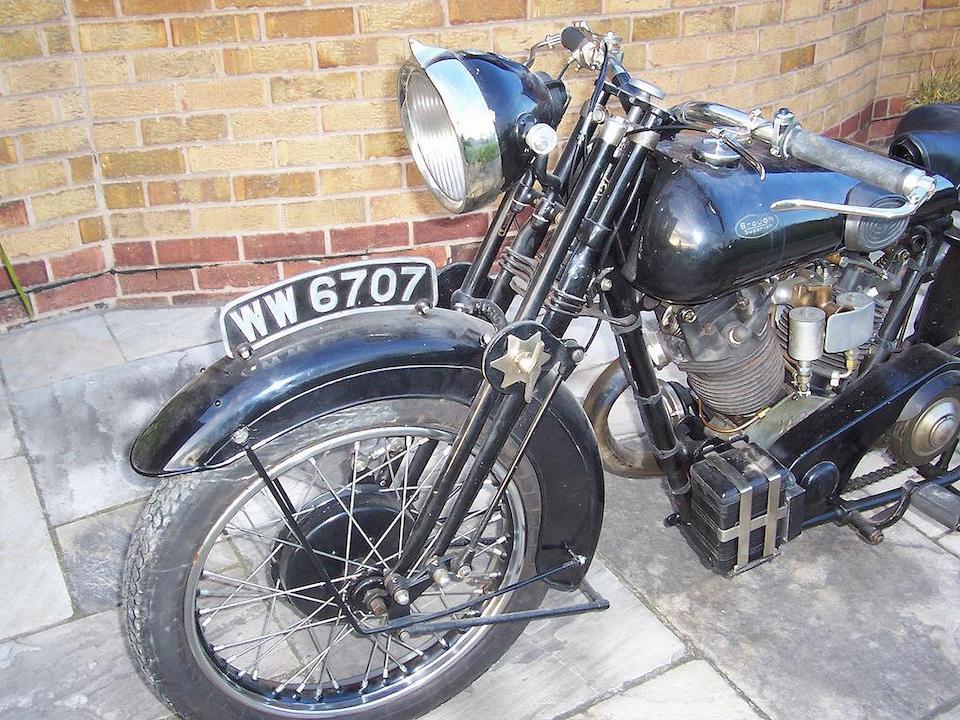 1928 Brough Superior Overhead 680 Frame no. 790 Engine no. GTOY/C16868