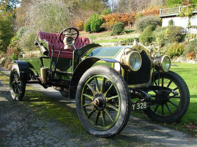 1907 Darracq 20-28hp Tourer  Chassis no. 2245 Engine no. 5669
