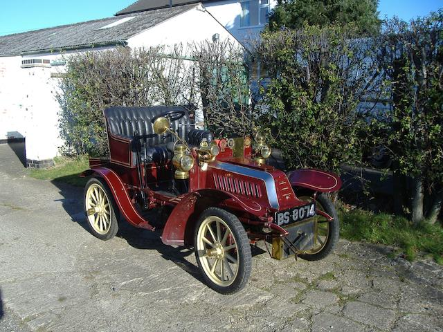 1904 De Dion Bouton Type Y 6hp Two-seater  Engine no. 16532