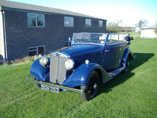 1936 Lanchester Type E 18hp Wingham Cabriolet  Engine no. 74815