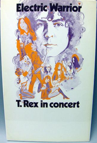 Two T. Rex posters, UK, early 1970s,