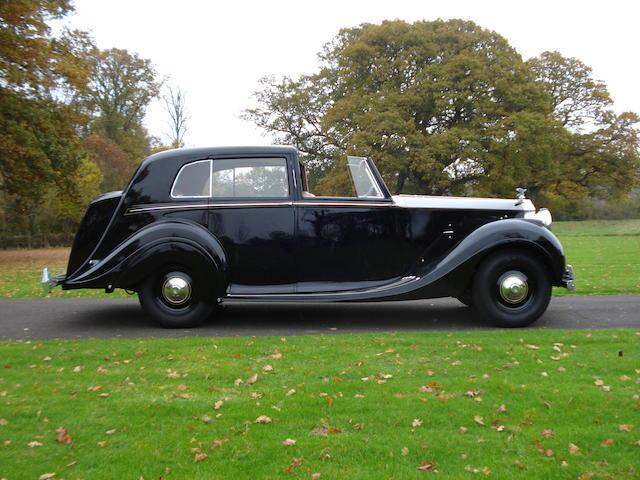 R-ROC Chicago Concours-winning,1947 Rolls-Royce Silver Wraith Sedanca de Ville WZB28