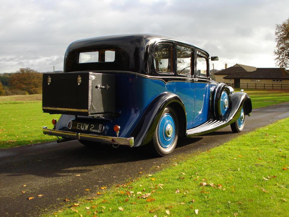 1937 Rolls-Royce 25/30hp Limousine  Chassis no. GAR51 Engine no. W23L