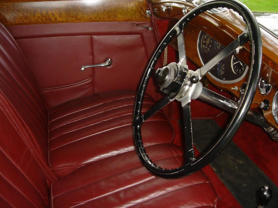 1933 Rolls-Royce 20/25hp Sedanca Coupé  Chassis no. GBA64