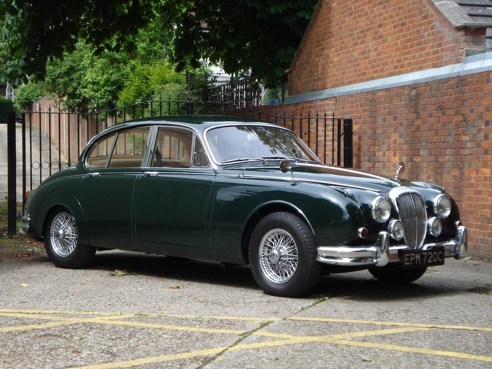 Formerly the property of his late Majesty King Hussein of Jordan,1965 Daimler V8 250 Sports Saloon  Chassis no. PIA8552EW Engine no. 7A9010