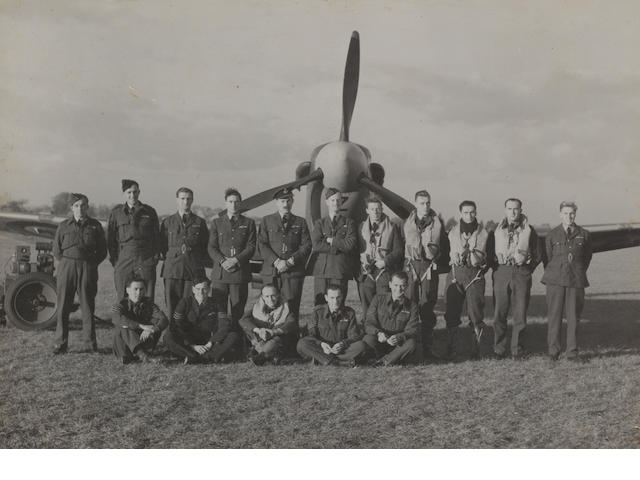 The D.S.O., D.F.C. and bar group of nine to Wing Commander C.F.Currant, Royal Air Force,