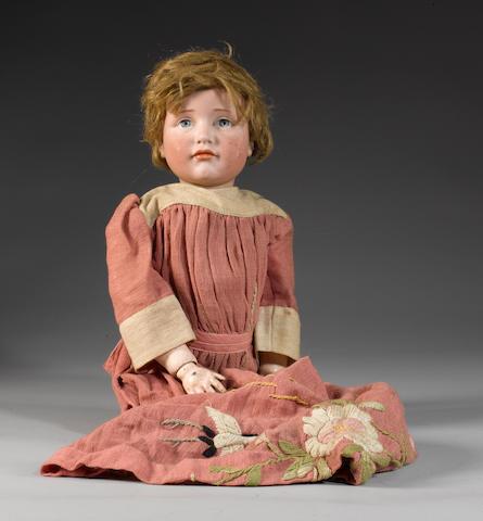 Kammer & Reinhardt 114 bisque head character doll, circa 1910