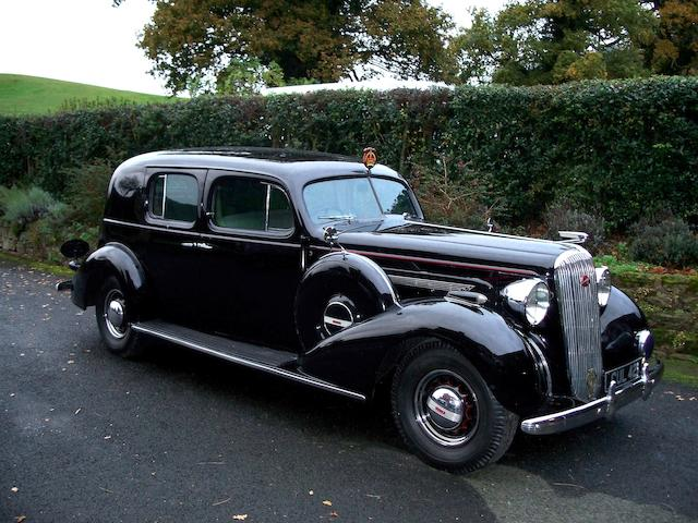 Formerly the Property of His Majesty, King Edward VIII,1936 Buick Limited Series 90 Eight Limousine  Chassis no. 649990164 Engine no. 2943885
