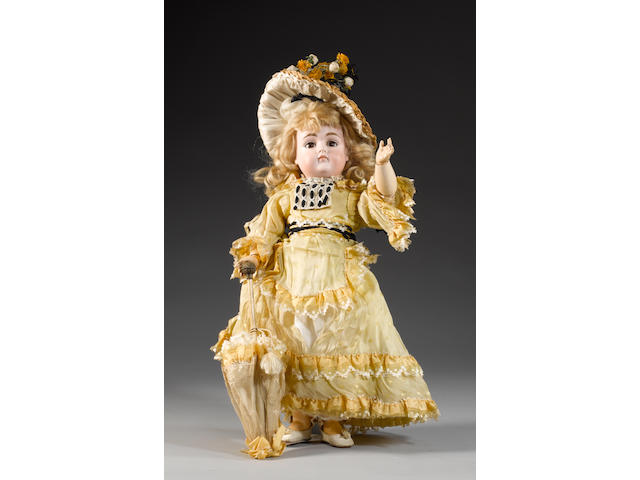Kestner 169 bisque head doll, circa 1880