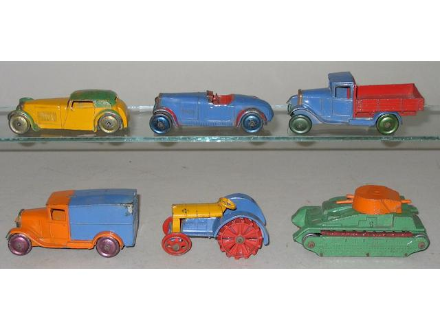 Dinky a complete set of 22 series 6