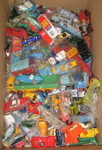 Various manufacturers a quantity of assorted unboxed models