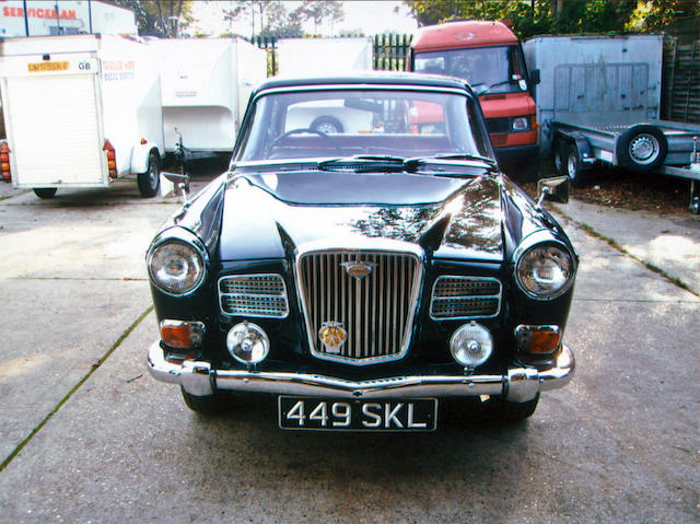 Single family ownership from new,1962 Wolseley 16/60 Saloon  Chassis no. WHS3/26721 Engine no. 16HMUH/21049