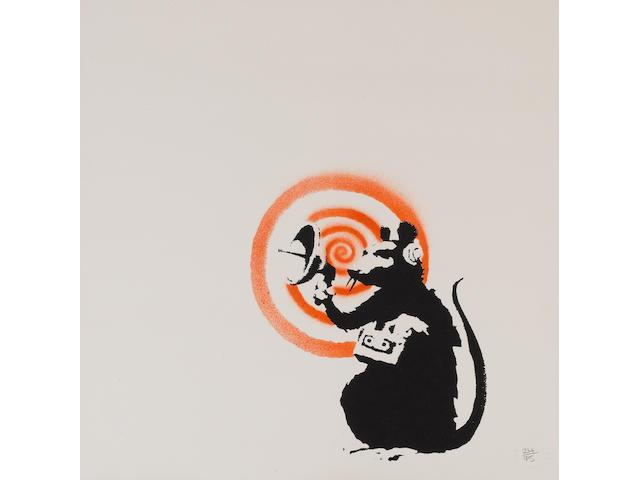 Banksy (British, born 1975) Radar Rat, 2004