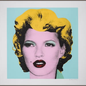 Banksy (British, born 1975) Kate Moss, framed screenprint