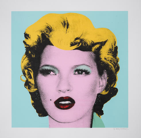Banksy (British, born 1975) 'Kate Moss', 2005
