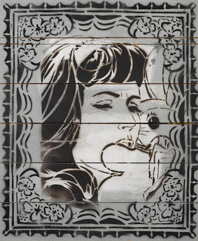 Faile (American, Canadian, Japanese) 'London 12', 2004