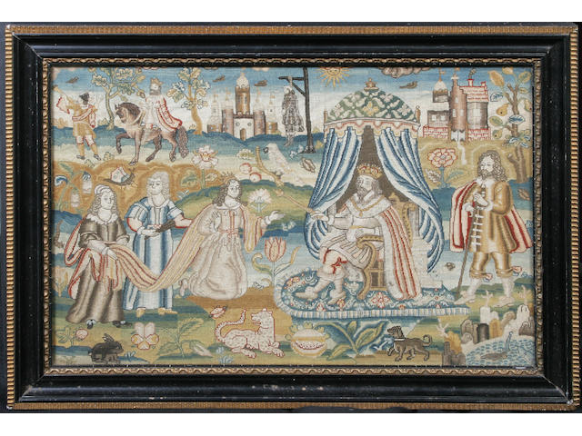 A late 16th/early 17th century needlework