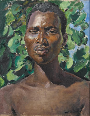(n/a) Alfred Neville Lewis (South African, 1895-1972) Vamba 50.8 x 40.6 cm. (20 x 16 in.)