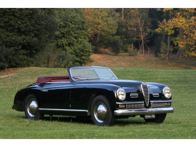 19,733 kms from new,1950 Alfa Romeo 6C 2500SS Cabriolet 915870