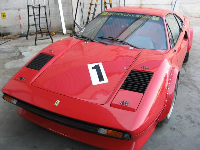 The ex-Carlo Facetti, Italian Championship-winning,1975 Ferrari 308GTB Berlinetta Gpe IV Facetti  Chassis no. 18855