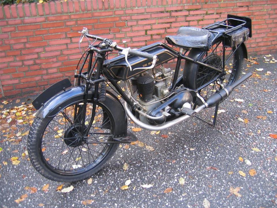 1927 Sunbeam 347cc Model 1/2 Frame no. A1197 Engine no. H1196