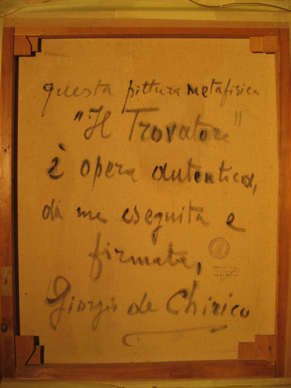 Bonhams : Giorgio de Chirico (Italian, 1888-1978) Il