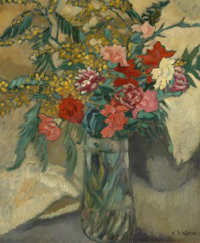 Louis Valtat (French, 1869-1952) Fleurs dans un vase, 55 x 46 cm (21 5/8 x 18 1/8 in)