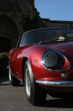 One of only 30 examples, with its Ferrari certification,1966 Ferrari 275GTB/2 6C Berlinetta long nose 08557