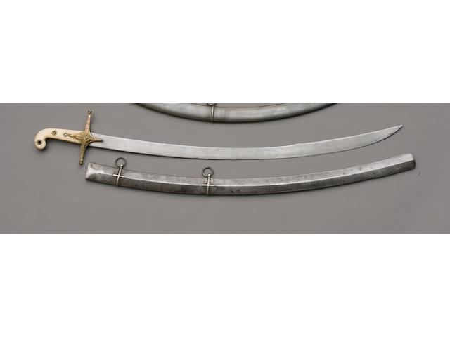 A Mameluke Hilted Levee Sword Of The 19th Lancers