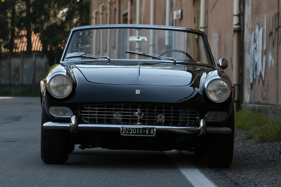In the same family since 1968, with the Ferrari certification,1965 Ferrari 275GTS Spider  Chassis no. 06819 Engine no. 06819