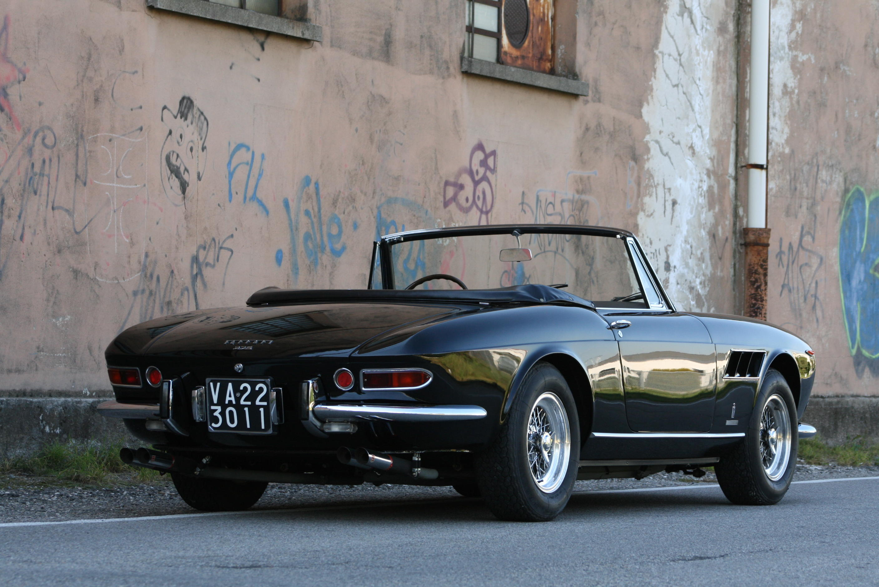 In the same family since 1968, with the Ferrari certification 1965 Ferrari...