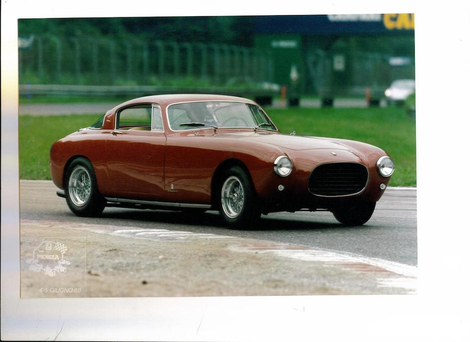 The 12th of only 21 built,1954 Ferrari 250 Europa Coupé  Chassis no. 0331EU Engine no. 1657GT