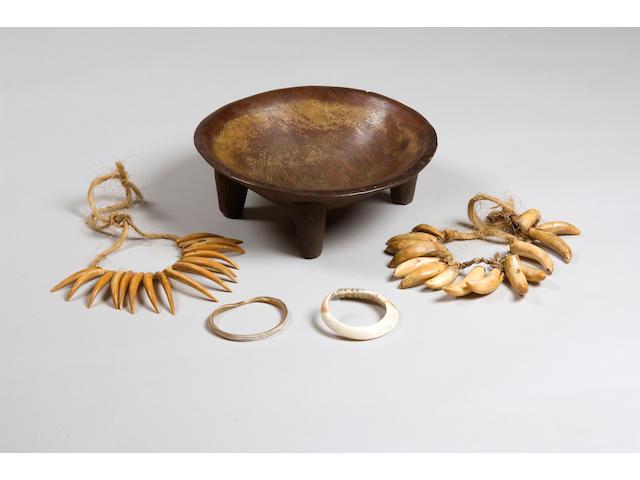 A good group of Fijian artefacts 5