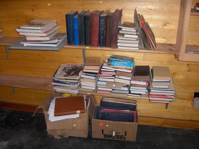 Assorted motoring literature and reference books,,