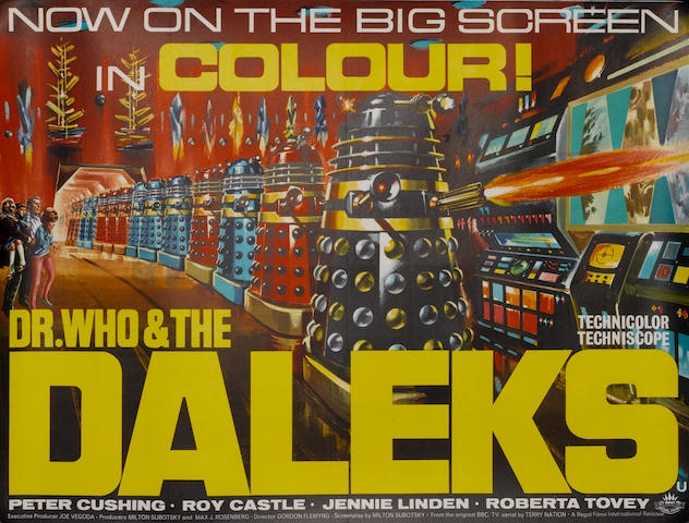 Dr. Who & The Daleks, Regal Films, 1965,