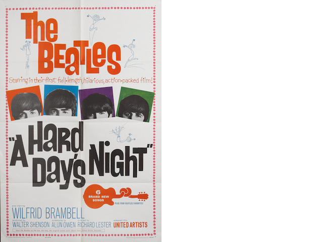 A Hard Day's Night, United Artists, 1964,