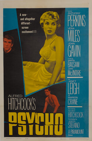 Psycho, Paramount Pictures, 1960,
