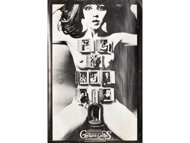 Chelsea Girls, Film Makers Cooperative, 1966, signed and dated 1970 by Alan Aldridge,