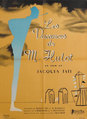 Les Vacances De Monsieur Hulot, Specta Films, 1953,